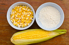 玉米和淀粉 库存照片