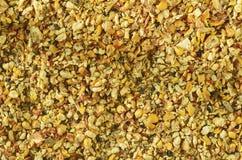 玉米废物和谷壳 玉米印地安人 特写镜头 背景 宏观图象可以使用作为背景 免版税库存图片