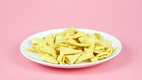 玉米快餐 免版税库存图片