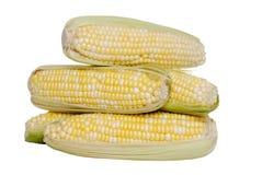 玉米查出的堆甜点 库存图片