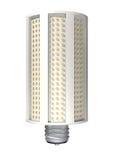 玉米棒子LED电灯泡 免版税库存照片