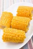 玉米棒玉米甜点 图库摄影
