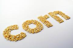 玉米清楚地说明的ii 库存图片