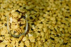 玉米片焦糖 库存照片