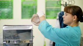 玉米种子实验室研究  另外种类,选择玉米品种样品  的实验室 影视素材