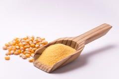 玉米粉 库存图片
