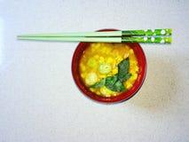 玉米粥 免版税库存图片