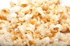 玉米花是戏院的食物 免版税库存图片