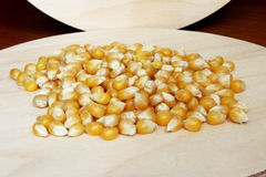 玉米花的五谷 免版税库存照片