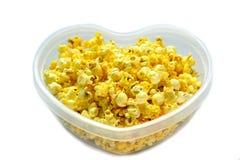 玉米花箱子 库存图片