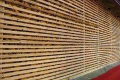 玉米谷仓 免版税库存图片