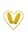 玉米重点 免版税库存图片