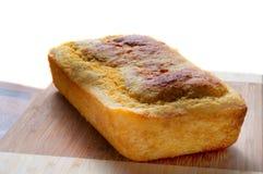 玉米面包新鲜的大面包 免版税库存图片