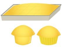 玉米面包松饼 库存照片