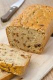 玉米面面包用干辣椒粉 库存图片