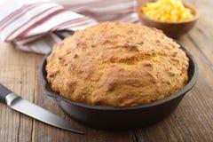 玉米面面包 免版税库存图片