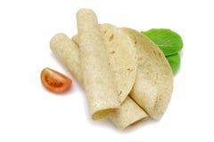 玉米饼换行 免版税图库摄影