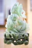 玉雕刻 免版税库存图片