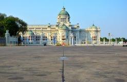 王位大厅在曼谷 免版税库存照片