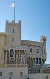 王侯摩纳哥的宫殿 免版税库存照片