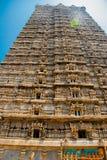 王侯Gopuram塔 Murudeshwar 卡纳塔克邦,印度 库存照片