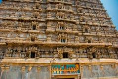 王侯Gopuram塔 Murudeshwar 卡纳塔克邦,印度 免版税库存图片