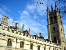 王国团结的牛津风景 免版税库存图片