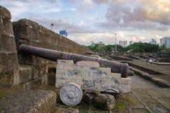王城区墙壁 免版税库存图片