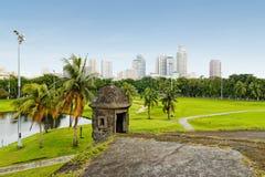 王城区,马尼拉(菲律宾) 库存照片