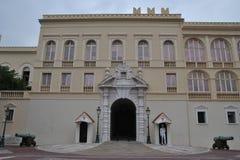 王子宫殿在摩纳哥 免版税图库摄影