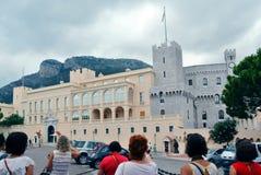 王子摩纳哥的` s宫殿 免版税图库摄影