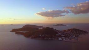 王子海岛看法在伊斯坦布尔土耳其 股票录像