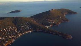 王子海岛看法在伊斯坦布尔土耳其 影视素材