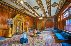 王子` s母亲住所在Manial宫殿,开罗,埃及 免版税库存照片