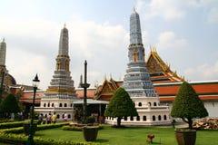 王宫区域在曼谷 免版税库存图片