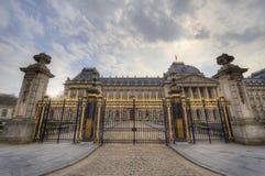 王宫在布鲁塞尔 免版税库存图片
