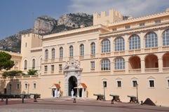 王宫在摩纳哥 库存照片