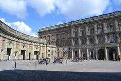 王宫在斯德哥尔摩,瑞典。 库存照片