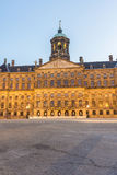 王宫在阿姆斯特丹,荷兰 库存图片