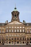 王宫在阿姆斯特丹 库存图片