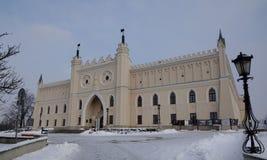 王宫在鲁布林 库存照片