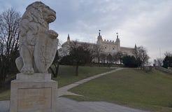 王宫在鲁布林 免版税库存图片