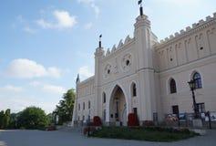 王宫在鲁布林 库存图片