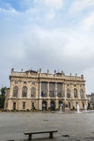 王宫马达马宫在都灵,意大利 免版税库存照片