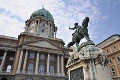 王宫,布达佩斯,匈牙利 免版税图库摄影