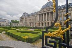 王宫,布鲁塞尔,比利时 免版税库存图片