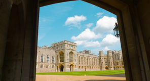 王宫,温莎城堡英国 库存图片