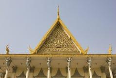 王宫,金边,柬埔寨 免版税库存图片