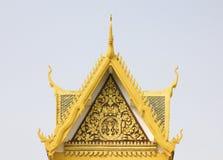 王宫,金边,柬埔寨 免版税图库摄影