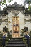 王宫, Ubud,巴厘岛,印度尼西亚 免版税库存照片